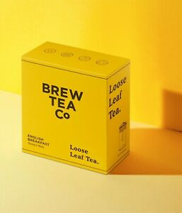 Brew Tea Co. English Breakfast Loose Leaf Tea  – 500g - shopcoffeeuk