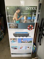 New listing Intex Ultra Xtr 18'x9'x52� Rectangular Frame Pool Set W Sand Fikter Pump