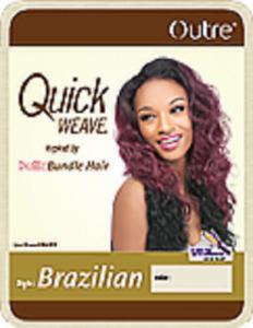 OUTRE QUICK WEAVE. INSPIRED BY BATIK BUNDLE HAIR  BRAZILIAN