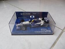 Williams Bmw FW23 Ralf Schumacher nº5 San Marino 1 º de win Minichamps 1/43 2001