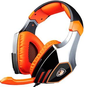 SADES A60 Ele Gaming Headsets with Microphone