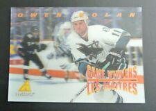 1995-96 McDonald's Pinnacle 3D Hockey Card - Owen Nolan