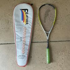 NEW! Feather Cyclone 2003 100% Super Carbon Squash Racquet 135 w/ Carrying Bag