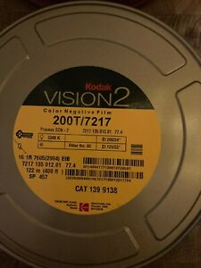 6x KODAK VISION2 16MM COLOR NEGATIVE FILM 200T/7217 400FT (SEALED) TOTAL 2400 FT