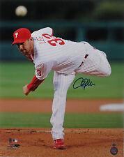 Cliff Lee Autographed Signed 16x20 Photo Phillies Indians Rangers (JSA PSA Pass)