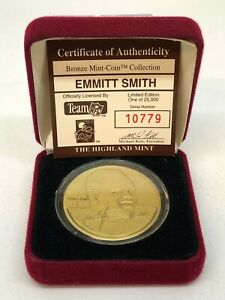 Highland Mint Emmitt Smith with Case 10779/25000!