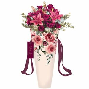 Mothers day Day Gift Waterproof lining Valentines Gift Medium Size Flowers