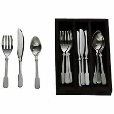 "Svc For 4 Colonial 18"" Doll Kitchen Utensil Flatware Set +Tray fit American Girl"