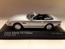 Aston Martin V8 Volante 1987 Silver 1:43 Minichamps 400137731
