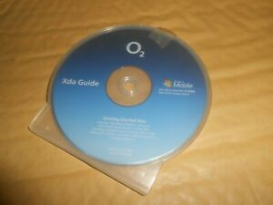 o2 XDA Guide CD Getting Started Disc Manual for Mobile Phone