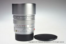 Leica Summicron M 90mm f/2 E55 Silver Chrome Excellent