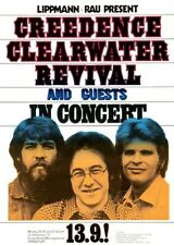 Creedence Clearwater Revival CCR POSTER 1971 Rare Large John Fogerty