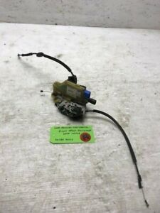 06-08 Bentley Continental Flying Spur RIGHT FRONT DOOR LATCH W WIRING 3W5837013J