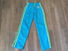 Girls Size 10 Soccer Tracksuit Track Athletic Pants Justice Brand Blue And Green