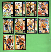 1994 series 2  RUGBY LEAGUE CARDS - BALMAIN TIGERS