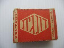 An old  match box, Donagit, Jerusalem, Palestine, 40's.