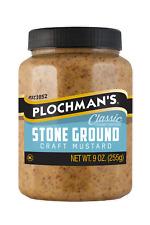 Plochmans Stone Ground Mustard, 9 Oz