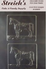 Horse with Saddle Plaques Chocolate Candy Mold