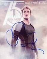 """~~ SAM CLAFLIN Authentic Hand-Signed """"THE HUNGER GAMES"""" 8x10 Photo ~~"""