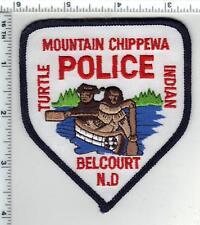 Mountain Chippewa Turtle Indian Police (Belcourt, North Dakota) Shoulder Patch