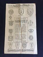 Vintage WWII Soldiers Newspaper Santa Maria Sept 27 1945 Wet Run Newspaper 99th