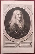 Burin, Portrait de Thomas Corneille, Simon Thomassin