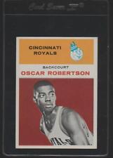 1961 Fleer Basketball Set Break #36 Oscar Robertson Rookie RC HOF Royals PSA