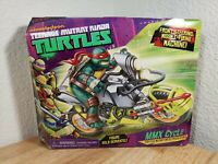 TMNT MMX Cycle Action Figure Vehicle 2013 Playmates Toys Nickelodeon