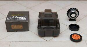 Metabones Speed Booster XL 0.64x (Nikon to MFT) - Used Once