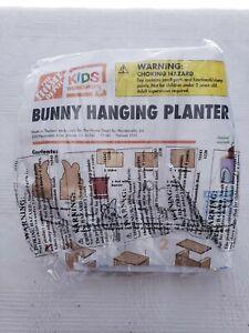 Home Depot Kids Workshop Kit April 2021 Bunny Hanging Planter New In Package