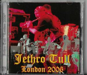 >> JETHRO TULL - London 2006 <> rare DCD <<
