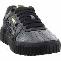 Puma Cali Croc Sneakers Casual    - Black - Womens