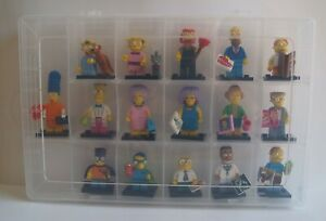 Lego Series 2 Simpsons (71009) Complete Set Of 16
