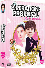 Operation Proposal Korean Series Sub Eng 6 DVDs - Complete Set <Brand New DVD>