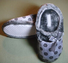 Comfy Soft Warm Winter Slippers Women Girl Lady Comfortable Shoes Sz 5 Grey 1792