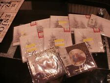 10 PACKS  of 10 Charity Christmas Cards 3 Designs  by Tesco