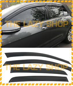 Weathershields, Weather Shields for Volkswagen Golf 7th Gen 2013+ MK7 MK7.5