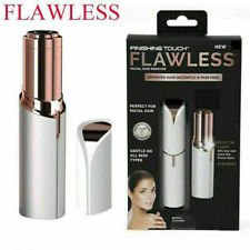 Flawless LED Lighted Precision Painless Electric Facial Hair Remover NEW