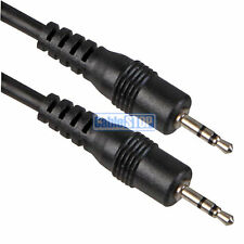 1M 2.5mm Mini STEREO Small Jack to Jack Plug Audio Headphone Cable Audio Lead