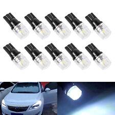 10PCS T10 W5W 194 168 3W LED COB Interior Canbus Side Lamp Wedge Light Bulb