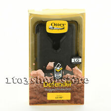 OtterBox Defender LG V10 Shockproof Hard Shell Case w/Holster Belt Clip Black