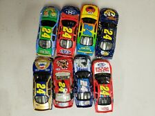 NASCAR DIECAST 1:64 CAR #24 SOLD AS A SET