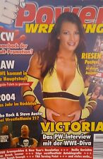 Power Wrestling 2/2005 WWE WWF TNA + 4 Poster (Rumble, Lilian, Undertaker)