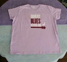 2008 Doheny Blues Music Festival CA Size  XL  T-Shirt Purple  Bonnie Raitt