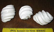 "3 Pc Twister styrofoam forms craft new 2 7/8 tall 2 1/8"" dia"