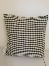 """Green Gingham Check Pillow 16 X 16"""" Primitives By Kathy"""