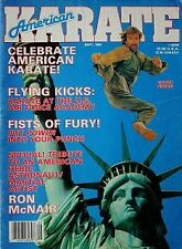 9/86 AMERICAN KARATE JOE LEWIS CHUCK NORRIS BLACK BELT KUNG FU MARTIAL ARTS