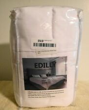 Edilly 100% Micofiber 12 Pack Pillowcases King Size White New