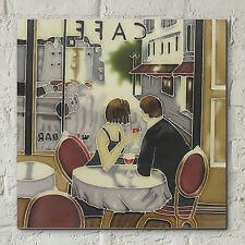 """Brent heighton dopo ore dipinto quadro in ceramica piastrelle muro PLACCA 8x8 """" 05647"""