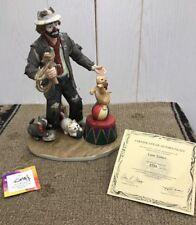 NEW Emmett Kelly Jr. EKJ LION TAMER Figurine Collectible Large #2760 Flambro NIB